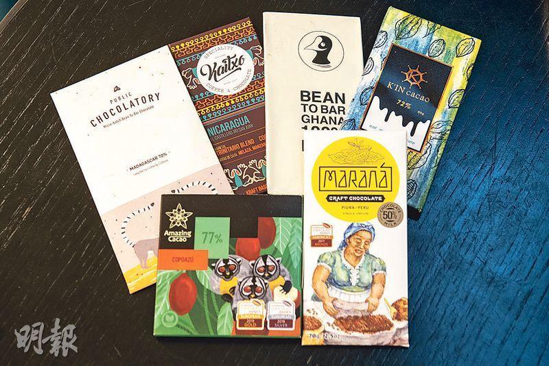 手工朱古力熱——近年掀起Bean to Bar風潮,從選可可豆到發酵、乾燥、烘焙、研磨、調溫、熟成等,過程一絲不苟。(林靄怡攝)
