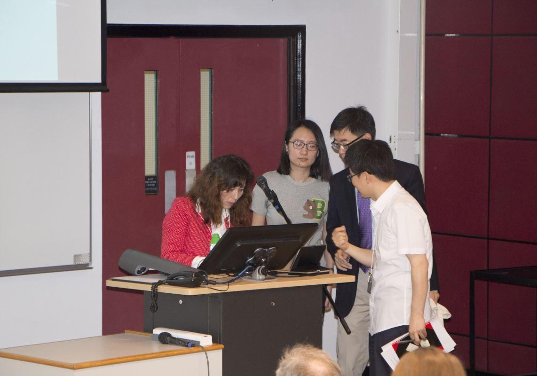 科大透過舉辦不同的活動,讓同學有機會與來自不同國家的專家和學生互相交流。圖為與美國Rice University合辦座談會。(圖由受訪者提供)