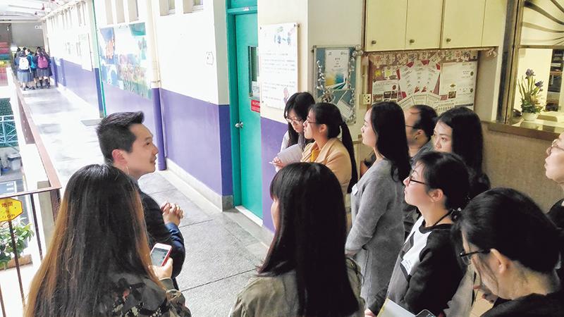 課程學員可藉著不同的體驗活動,包括到學校實地考察,訪問校長、輔導老師,又或是透過教育心理學家嘉賓講者的分享,了解校本教育心理服務。