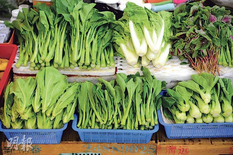 高硝酸鹽——葉菜類當中,菠菜、莧菜、白菜的硝酸鹽含量較高。(資料圖片)
