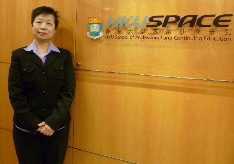 香港大學專業進修學院人文及法律學院英語課程主任Cecilia Kak
