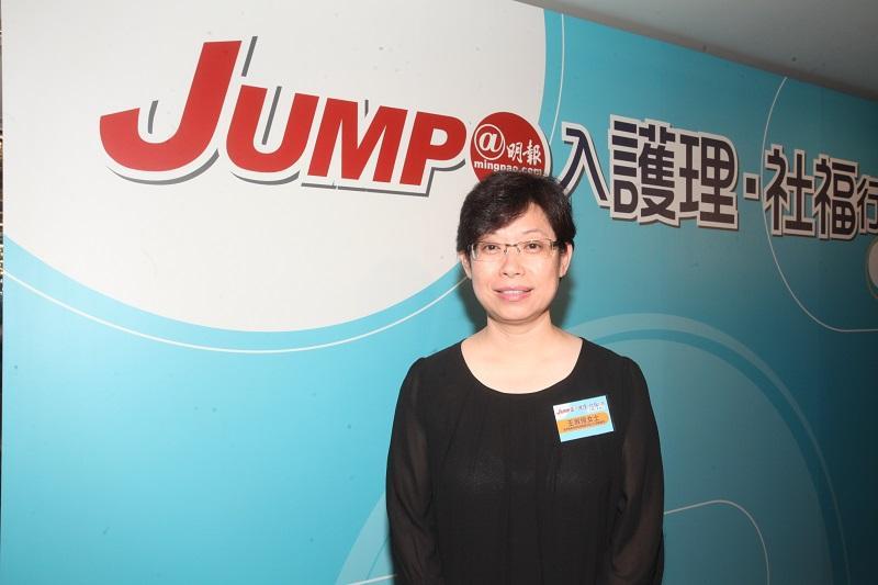 香港職業發展服務處健康護理科總培訓主任王淑玲