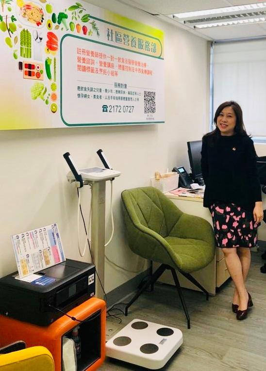 香港營養師協會副會長劉碧珊 (Doris)