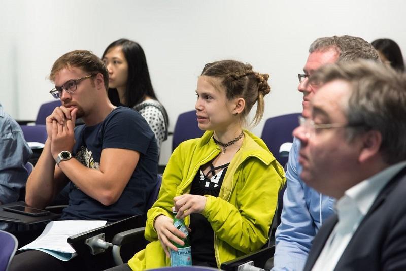各大學會透過舉辦不同的活動讓同學與外界交流。圖為科大與丹麥 Aarhus University 合辦的工作坊。
