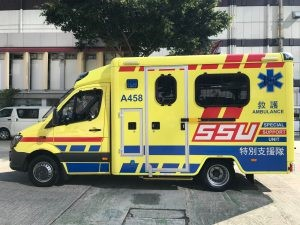 救護員站在抗疫最前線 救人助人 送院前護理不可缺