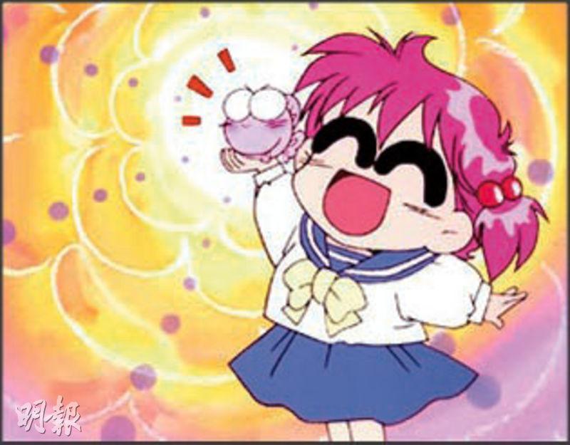 卡通片《娛樂金魚眼》的華美子是鄭麗麗首次配音的主角。(網上圖片)