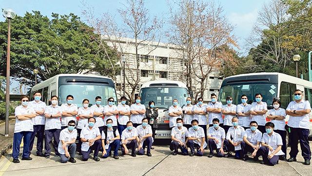 加入新界東醫院聯網 非緊急救護運送服務 用心助人轉新天