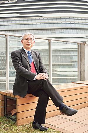 香港理工大學屋宇設備工程學系副教授王寧添博士