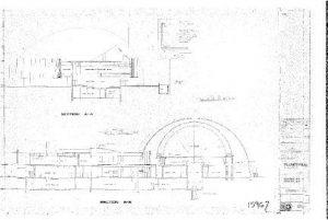 築署長何永賢表示,昔日技術限制下,較少出現弧形、圓形的建築物,香港太空館已屬相當複雜的設計。(建築署提供)