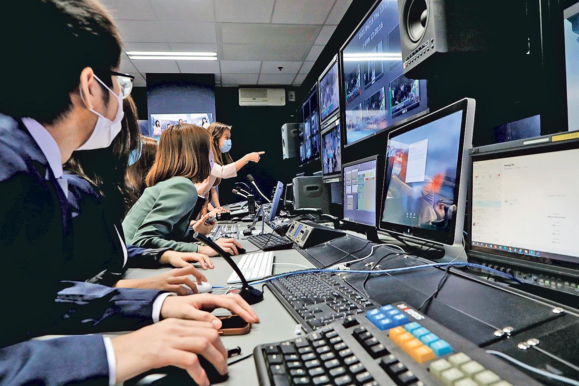 新一代數碼媒體人員 面對很多挑戰,如要掌握 各種新技術。