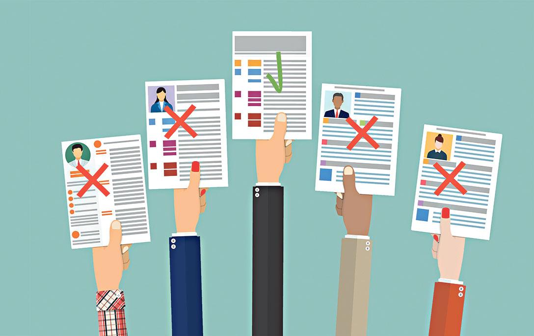 CV 內容以資訊性為主, 如提供聯絡方法、 學歷、工作經驗等; 求職信則是用文字簡 介自己, 說出個人優點等( 網上圖片)