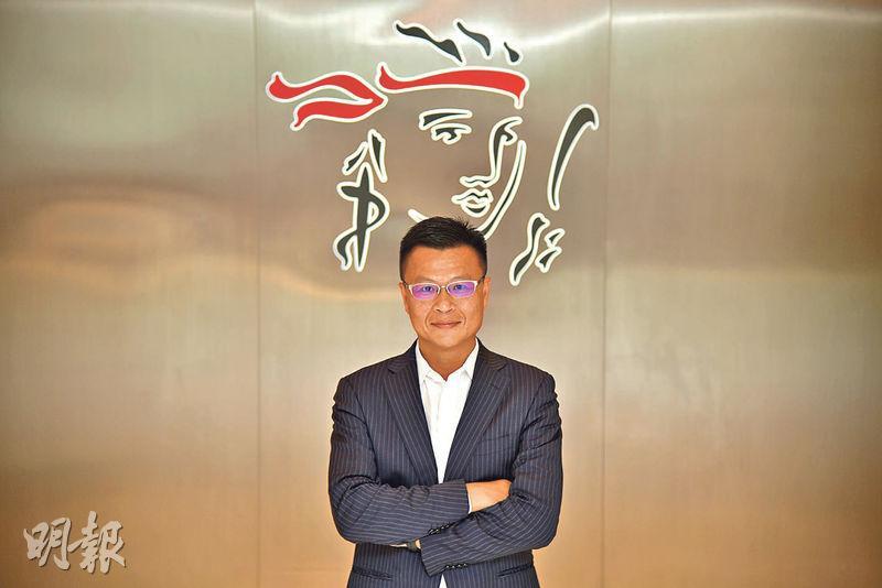 保誠首席業務總監蔡川艾表示大眾對保障的認知和需求上升,前景有吸引力,相信疫後經濟回復,人手也不會出現很大流轉。(黃志東攝)