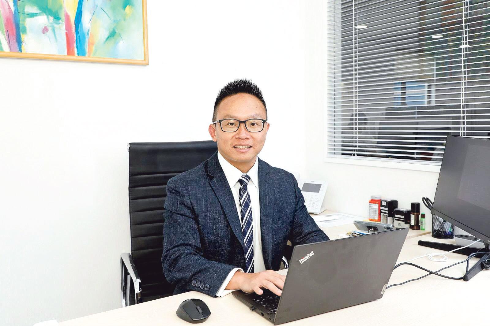 領康醫療首席運營總監孫志強(CK)