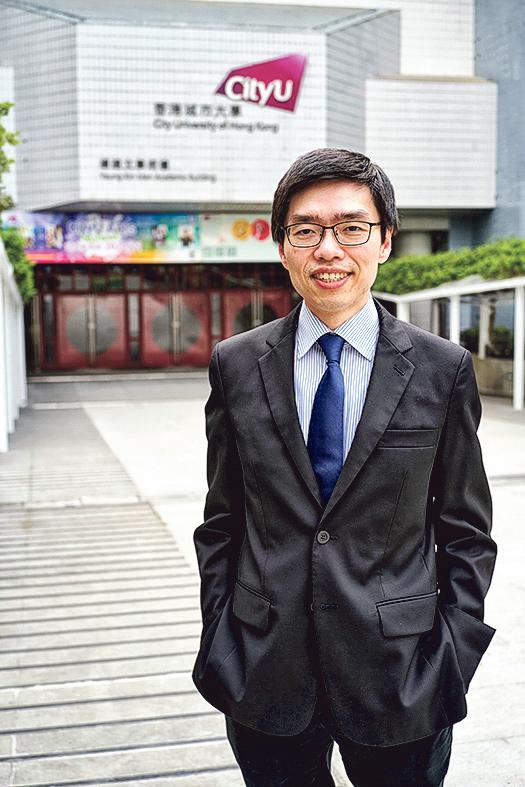 城大能源及環境學院副院長(本科生教務)兼副 教授李鈞瀚博士