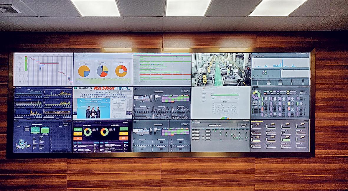 陳善榮分享,要實行實時數據化管理,涉及把不同的 獨立信息系統互相聯繫,需要軟件及硬件的配合。