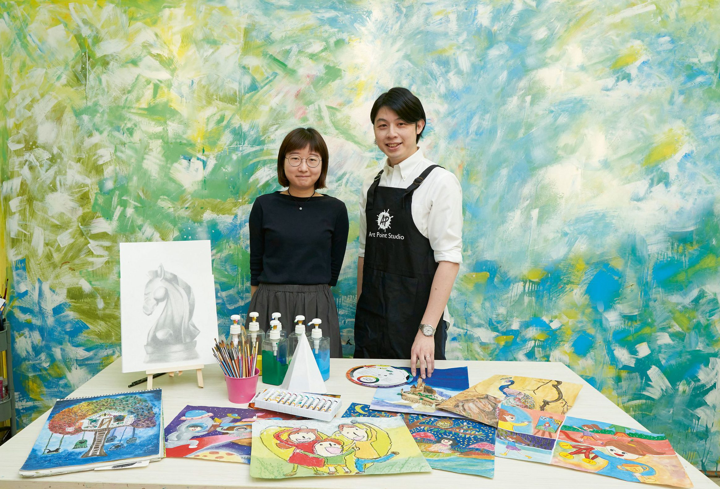 新一代兒童視覺藝術導師 掌握教學溝通之道 啟發多元思維