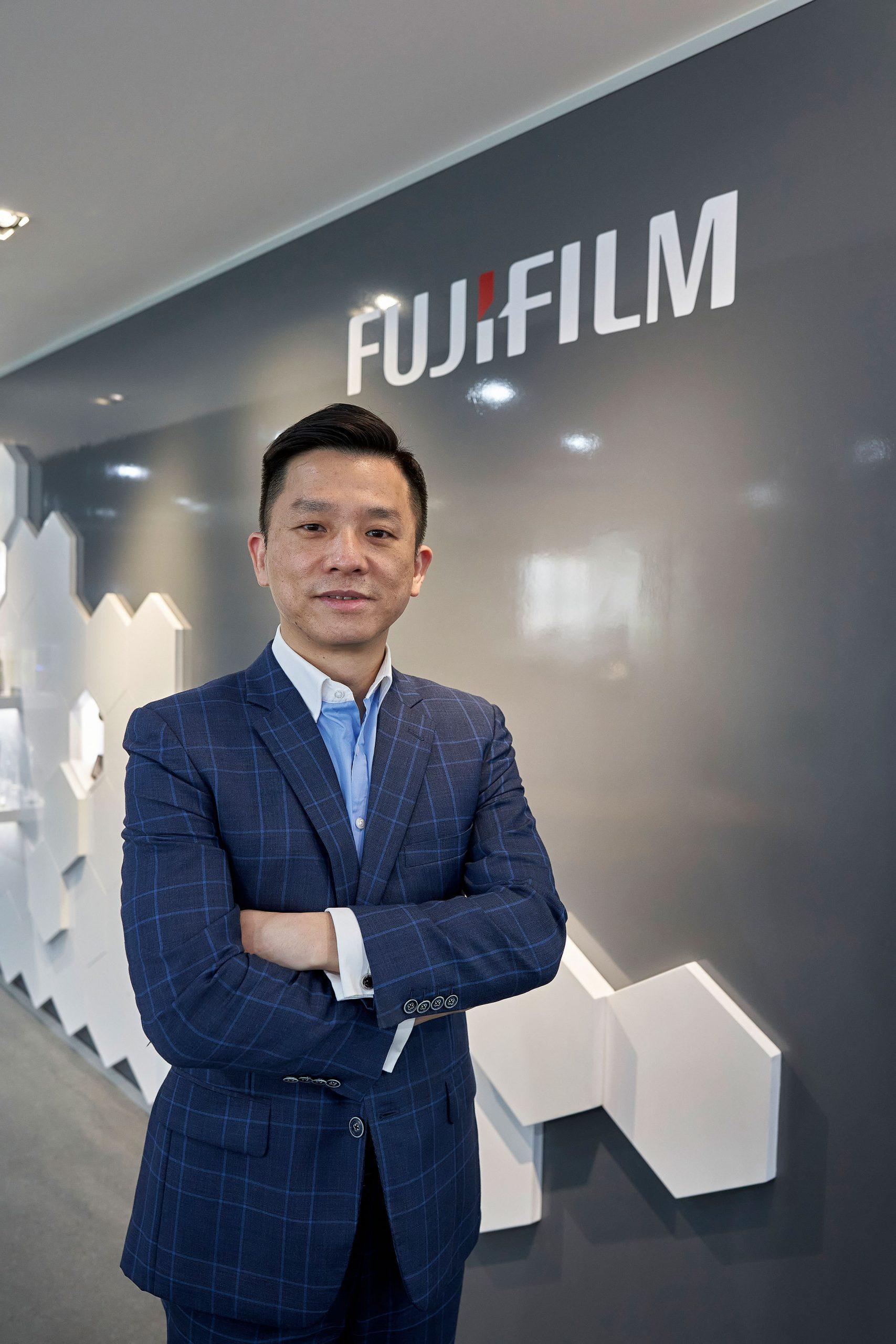 FUJIFILM BI HK市場部及供應鏈管理總監陳偉明
