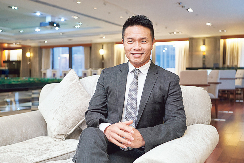 觀瀾湖集團主席兼行政總裁朱鼎健博士