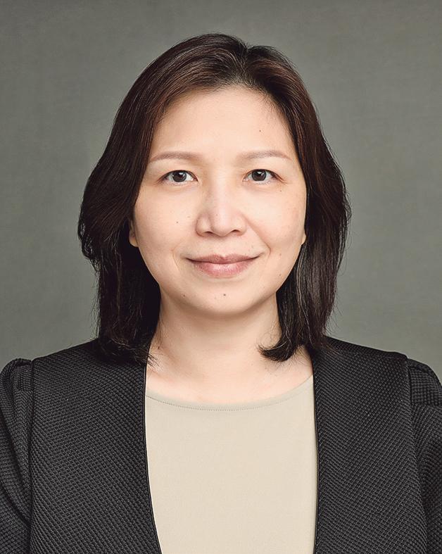 香港浸會大學學生事務處助理輔導長及事業策劃中心主管鄧藹儀博士 (Rosa)