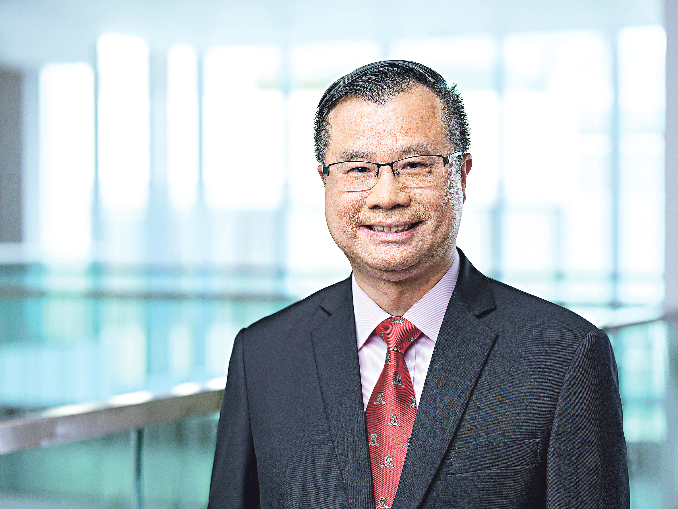 中大金融學系教授陳偉森