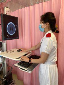 Vivian稱,護理工作的滿足感是來自病人的康復。